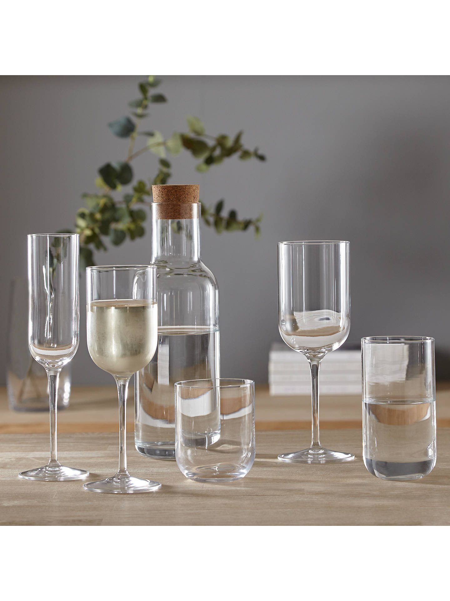 BuyJohn Lewis & Partners Sublime Carafe With Cork, Clear, 1L Online at johnlewis.com