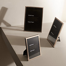 Buy Design Project by John Lewis No.026 Pewter Finish Photo Frame Range Online at johnlewis.com