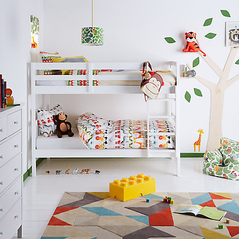 Buy little home at John Lewis Animal Fun Duvet Cover and Pillowcase Set Online at johnlewis.com