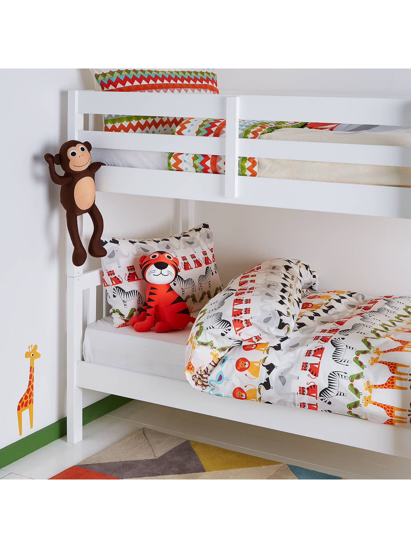 Buy little home at John Lewis Animal Fun Wall Stickers Online at johnlewis.com