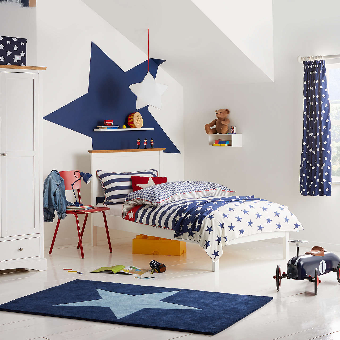 Little Home At John Lewis Glow In The Dark Star Pair