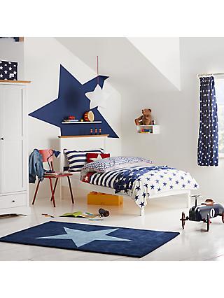 Little Home At John Lewis Stars Stripes Duvet Cover And Pillowcase Set Single