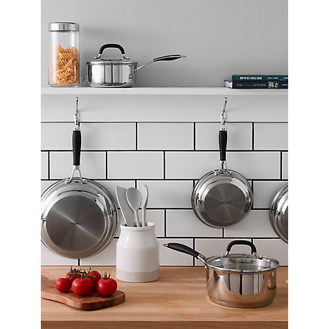 Buy John Lewis 'The Pan' Stainless Steel Cookware Online at johnlewis.com