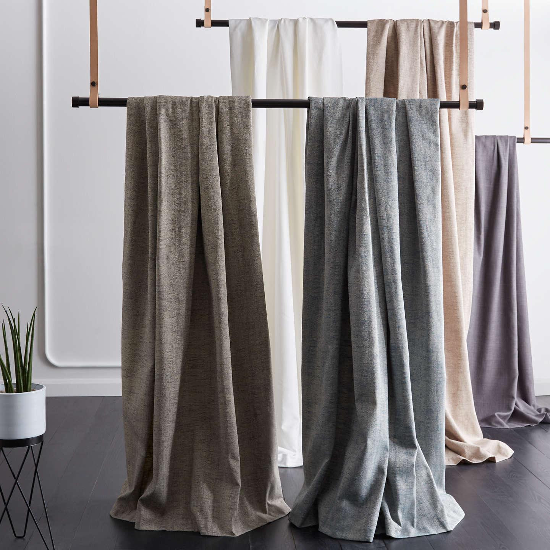 Buyjohn Lewis Berkley Pair Lined Eyelet Curtains, Grey, W167 X