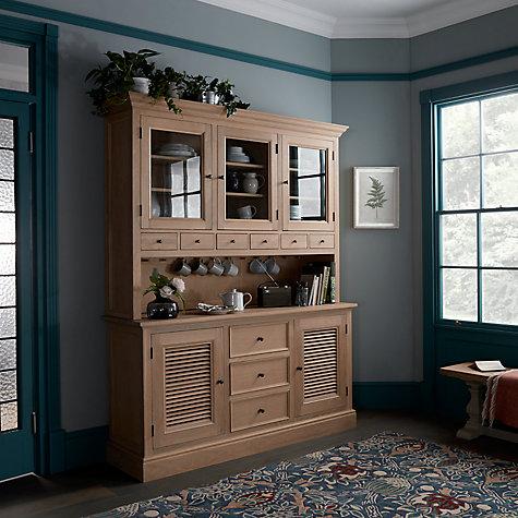 Buy John Lewis Wickham Large Sideboard Dresser Top Oak Online At Johnlewis