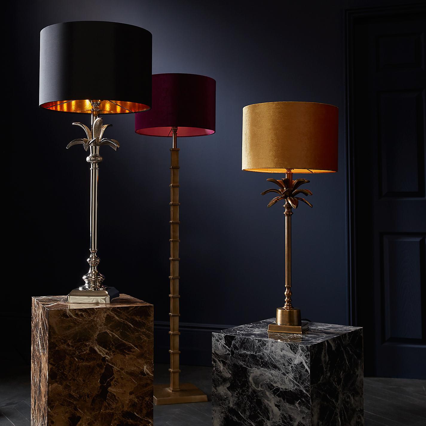 ... Buy John Lewis Jude Floor Lamp Base, Antique Brass Online at  johnlewis.com ...