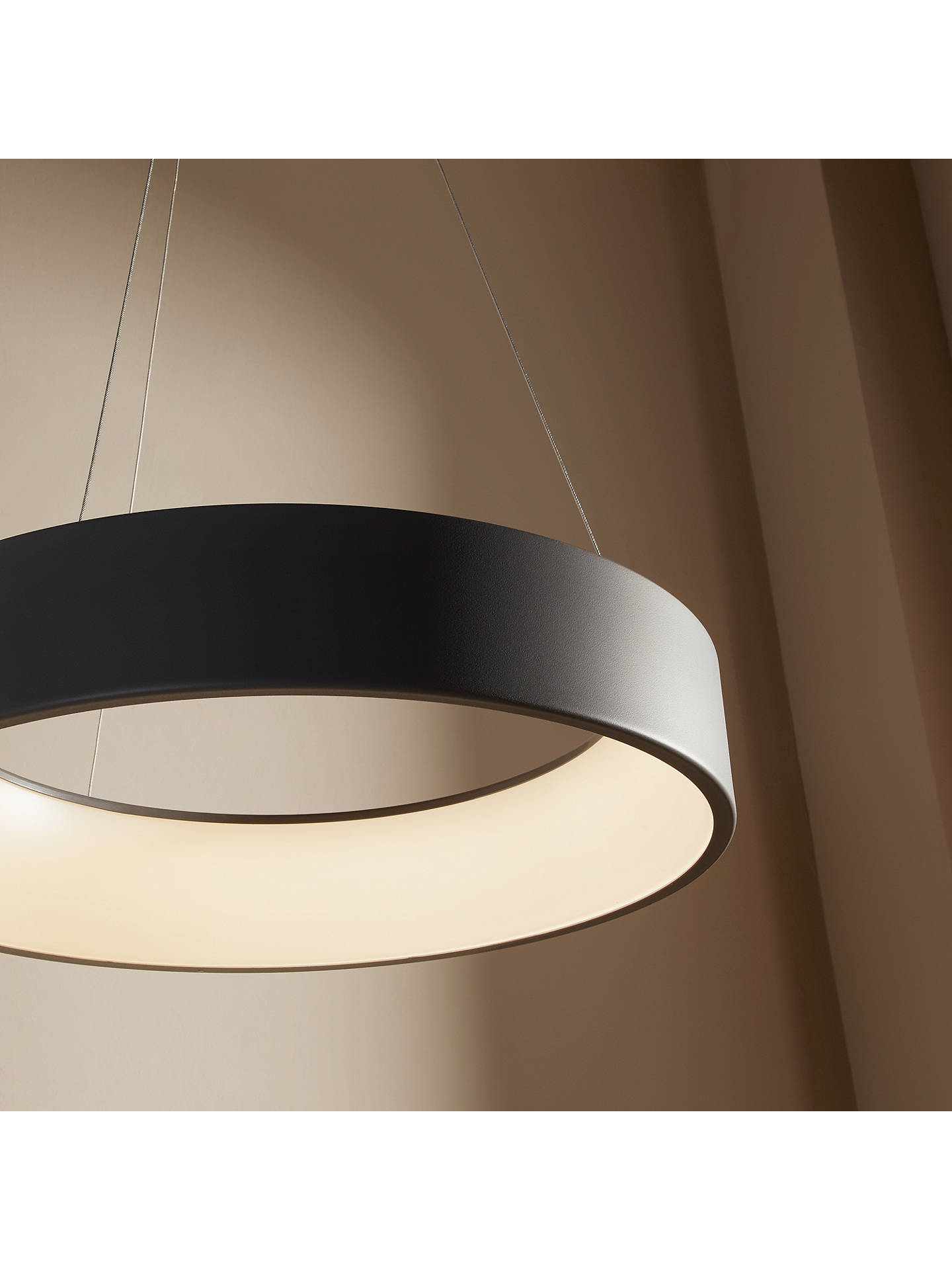 Design Project by John Lewis No.132 Finn LED Hoop Ceiling ...