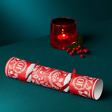 Buy John Lewis Folklore 12 Days Of Christmas Crackers