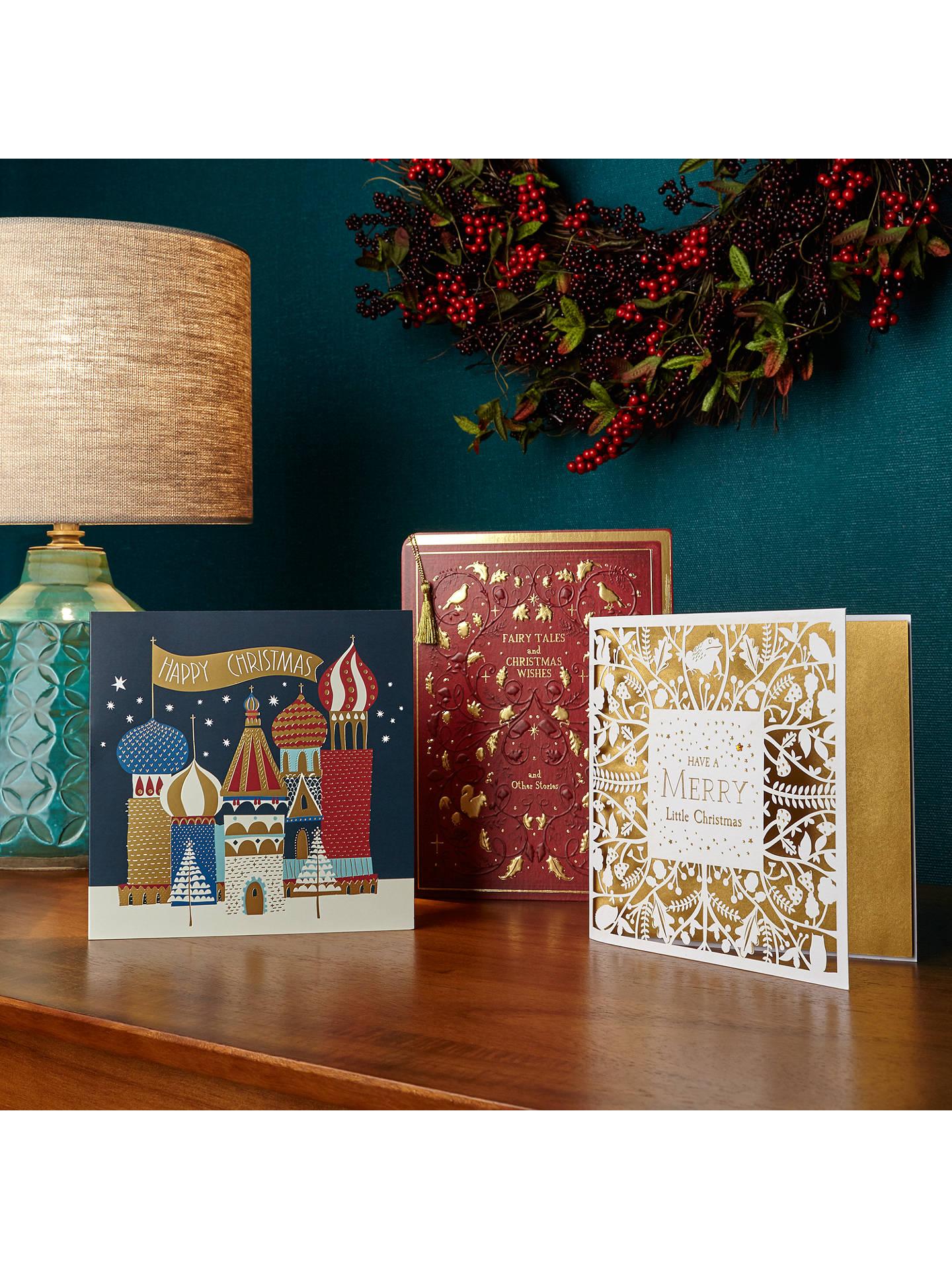 John Lewis Christmas Fairytale Book Charity Christmas Card