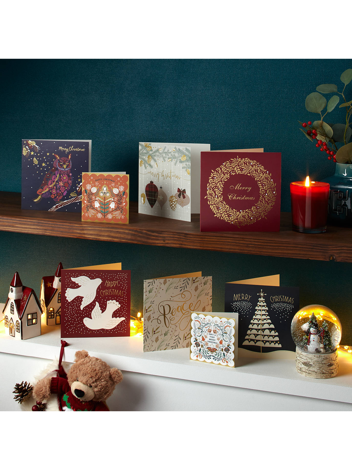 BuyJohn Lewis Forest Friends Charity Christmas Card, Pack of 10 Online at johnlewis.com