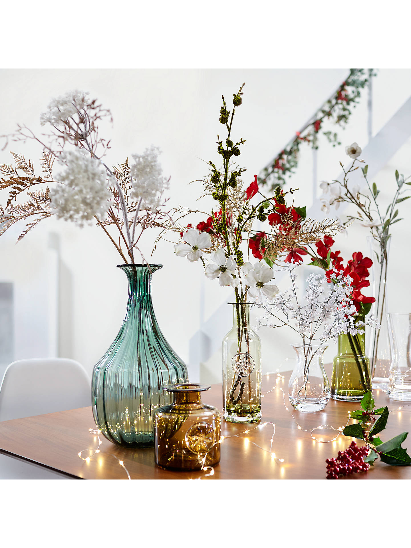 BuyJohn Lewis Winter Palace Asparagus Fern Spray, Silver Online at johnlewis.com