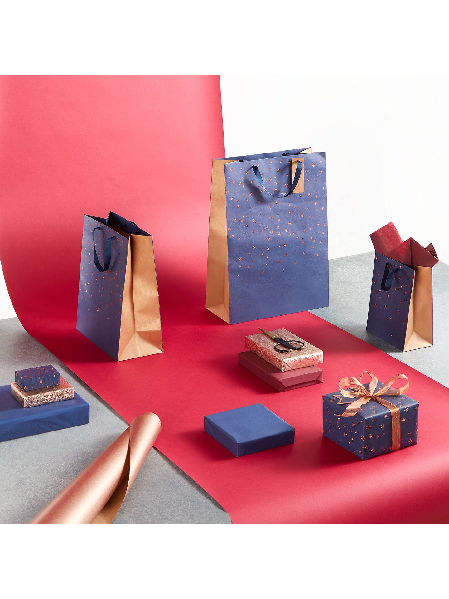 BuyJohn Lewis & Partners Kraft Gift Wrap, 5m, Copper Online at johnlewis.com