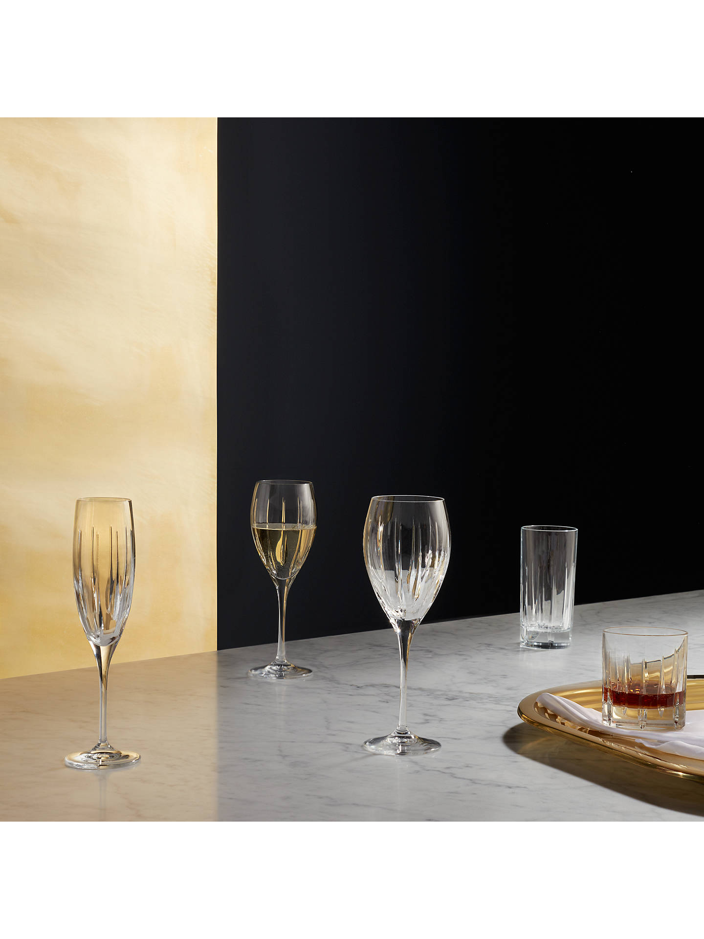 Buy John Lewis & Partners Glacier Wine Glasses, Clear, 301ml, Set of 2 Online at johnlewis.com