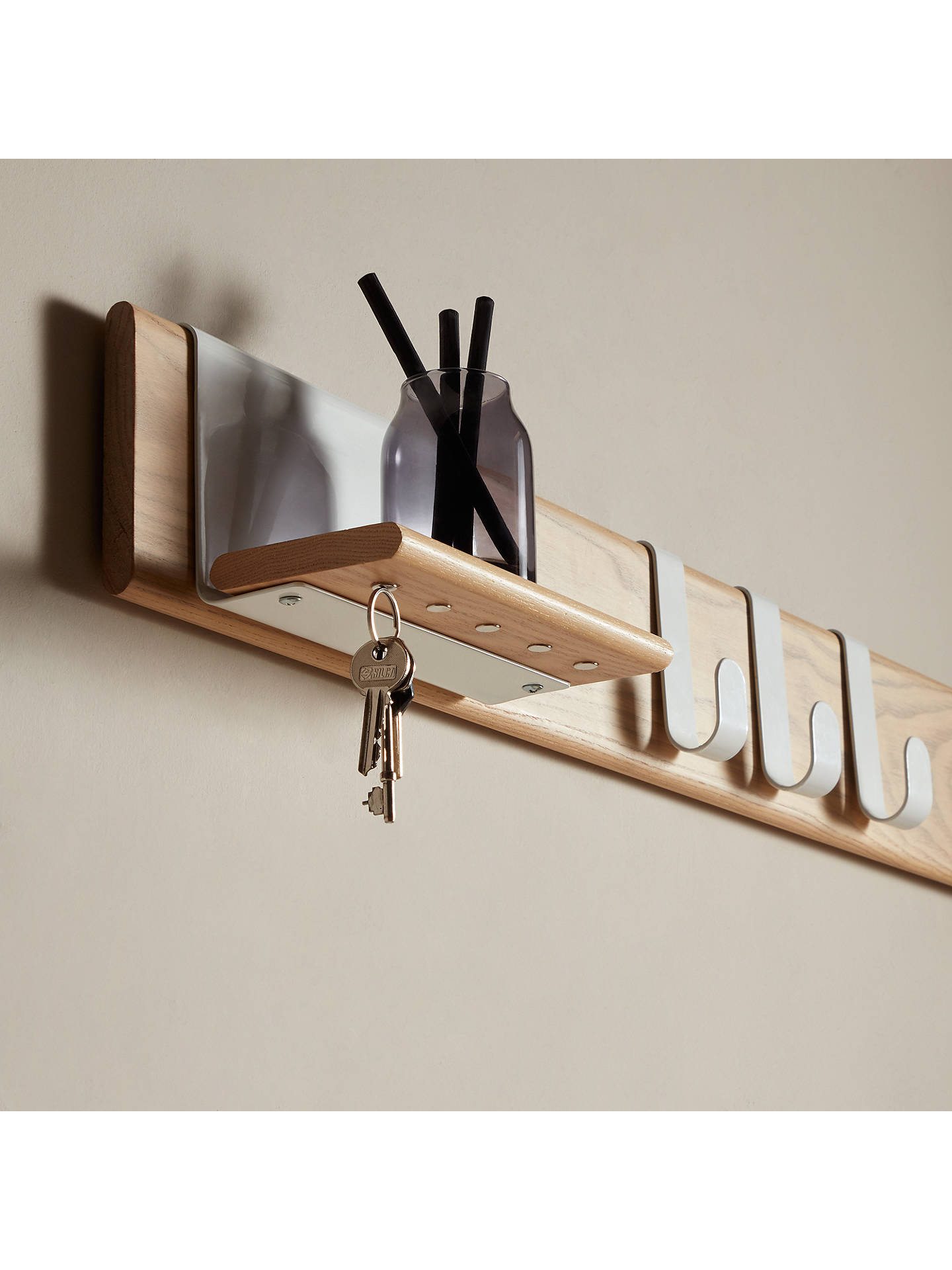 Design Project By John Lewis No 015 Shelf And Key Holder Online At Johnlewis