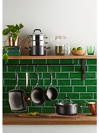 John Lewis & Partners 'The Pan' Aluminium Cookware