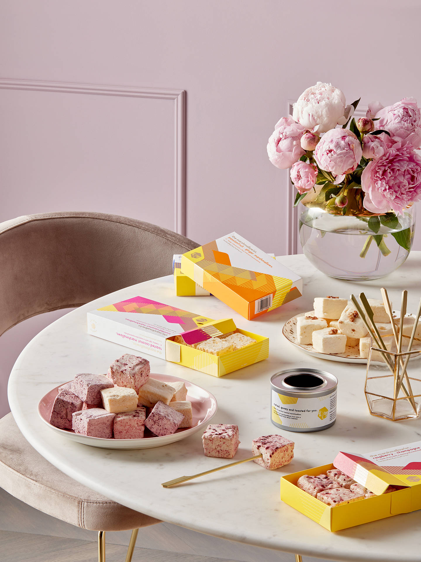 Buy The Marshmallowist Passionfruit & Ginger Marshmallows, 120g Online at johnlewis.com