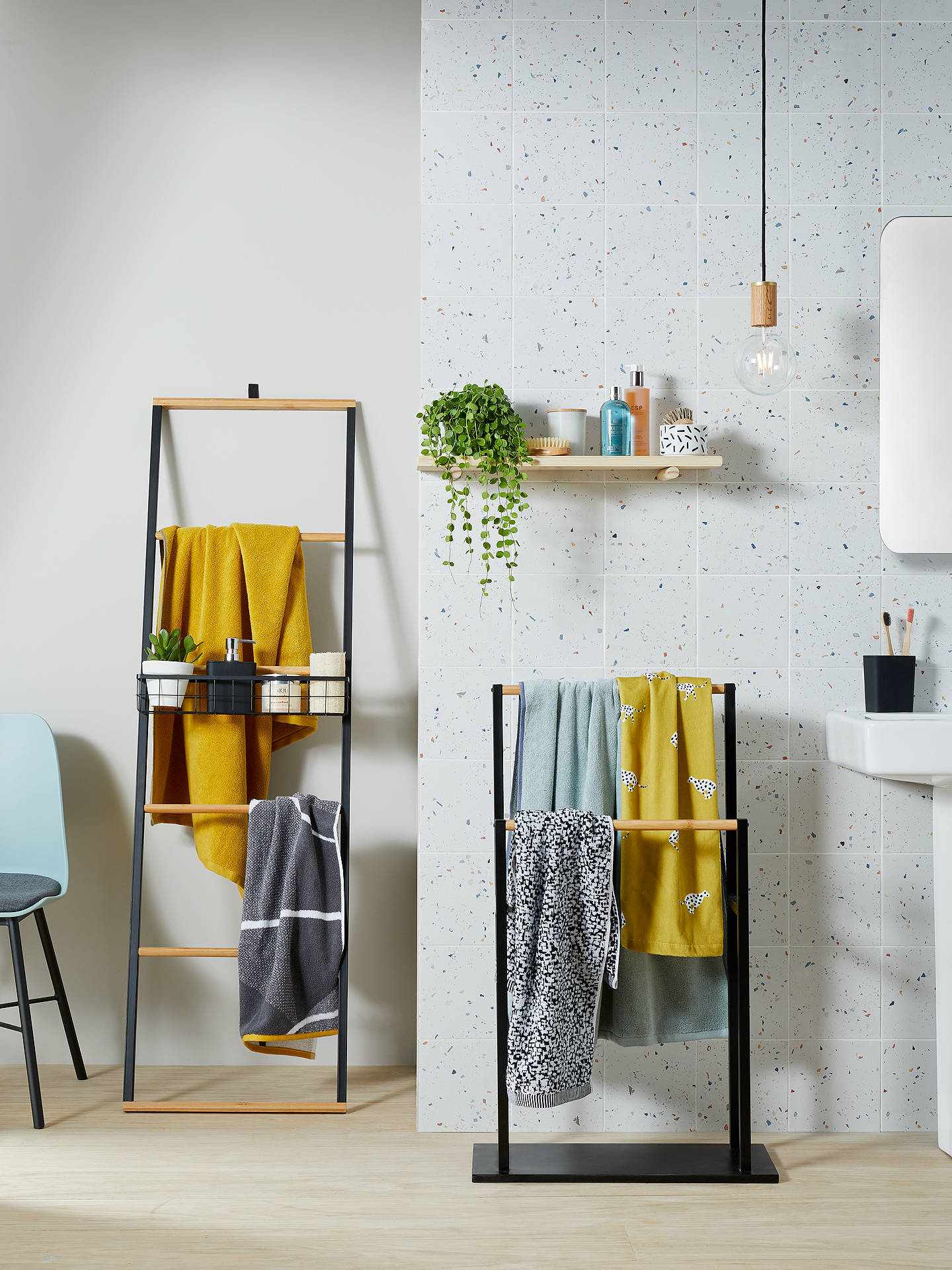 house by john lewis bamboo ladder at john lewis partners. Black Bedroom Furniture Sets. Home Design Ideas