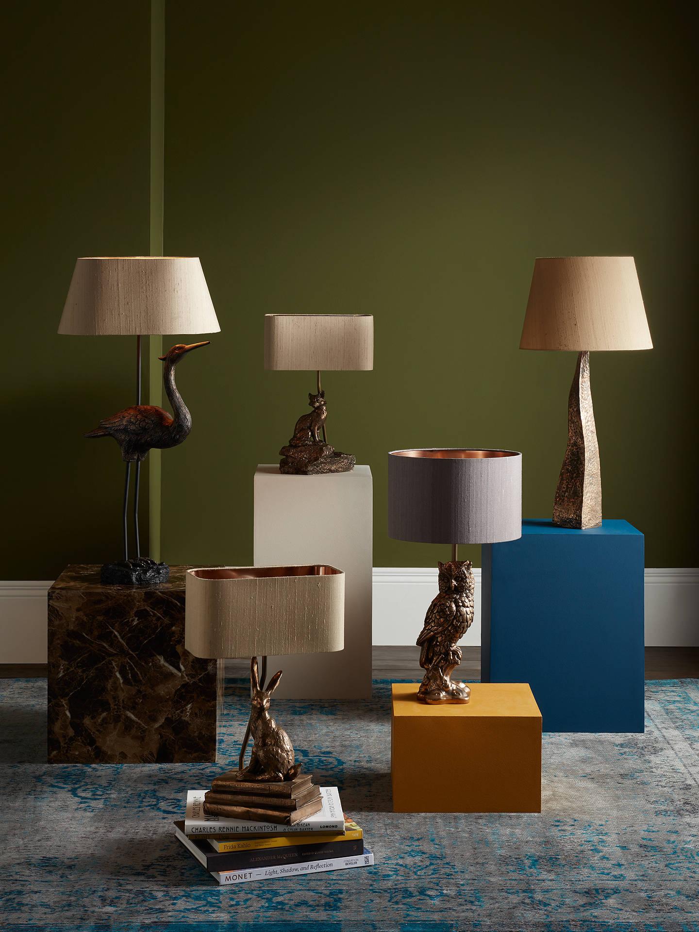 David Hunt Hare Table Lamp, Bronze at John Lewis & Partners