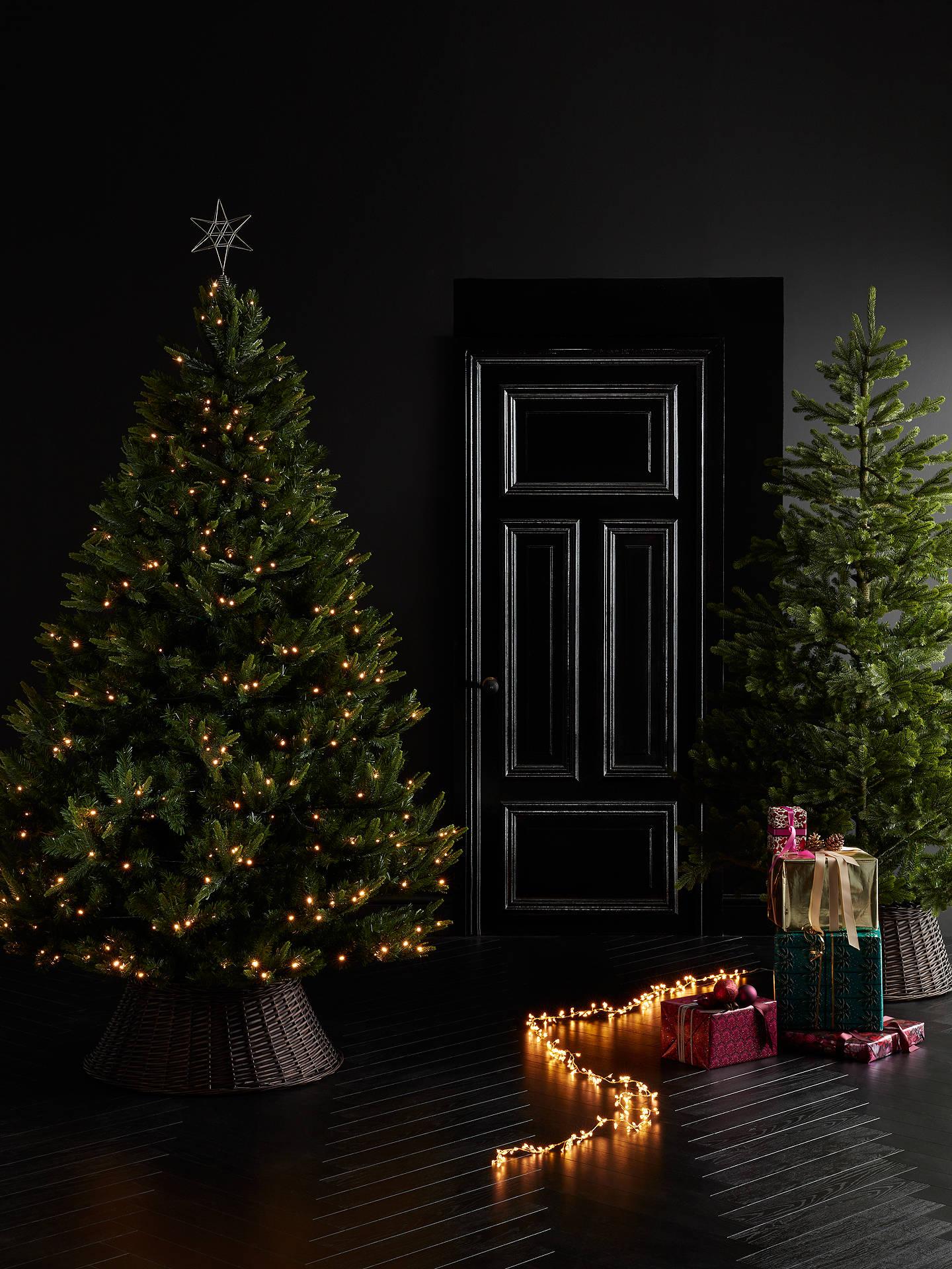 John Lewis & Partners Gold Peardrop Pre-lit Christmas Tree, 7ft at John Lewis & Partners