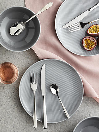 Buy John Lewis & Partners Oval Cutlery Set, 18 Piece/6 Place Settings Online at johnlewis.com