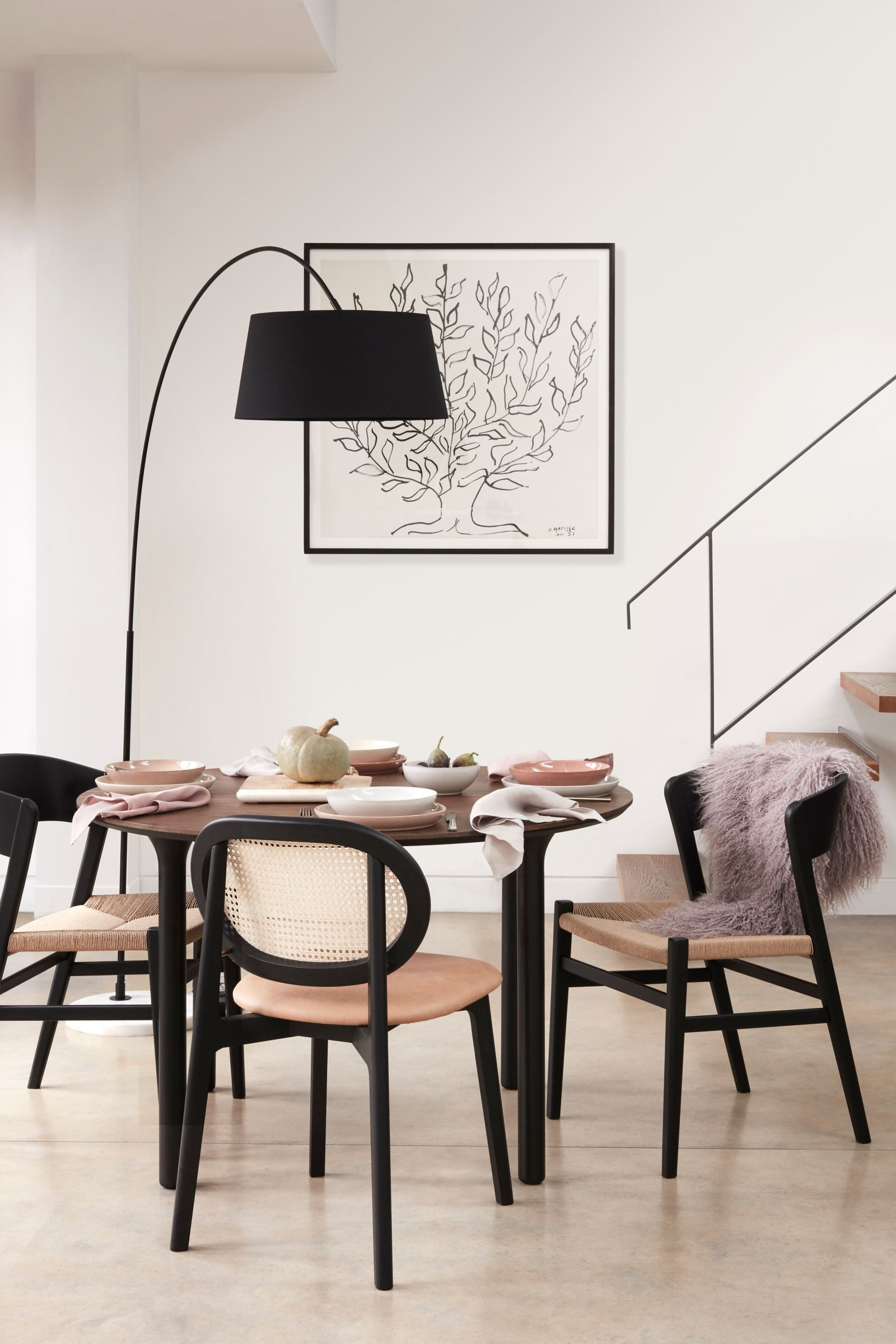 Design Project By John Lewis No 168 Arched Floor Lamp Black At John Lewis Partners