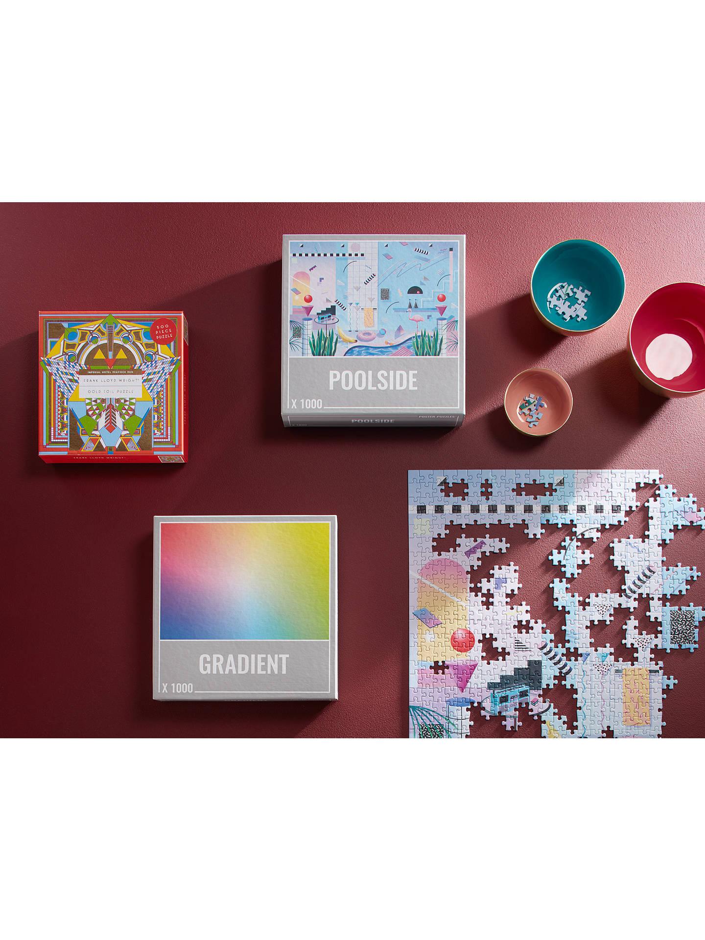 Cloudberries Poolside Jigsaw Puzzle