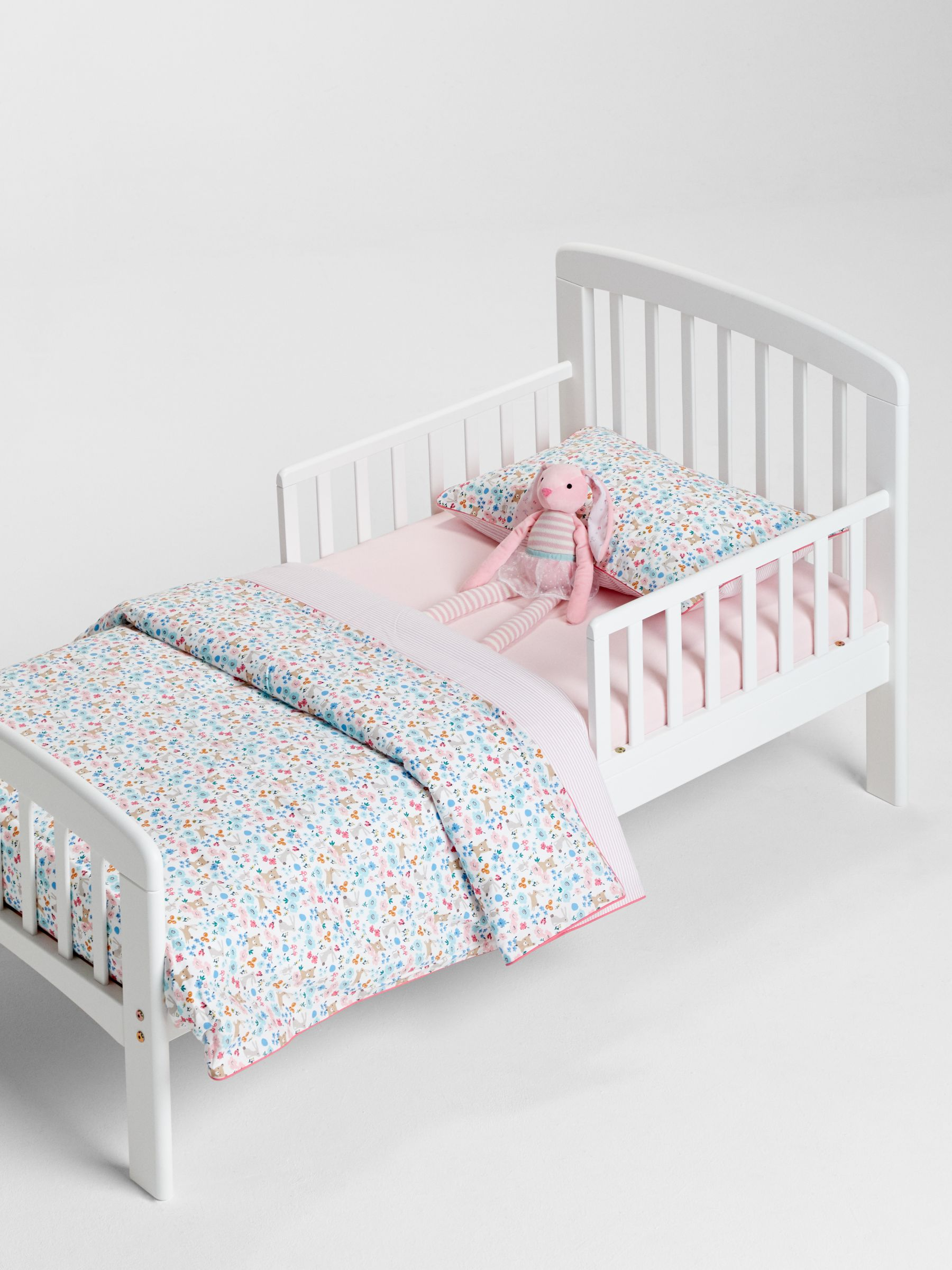 Picture of: John Lewis Partners Anna Junior And Toddler Bed White At John Lewis Partners