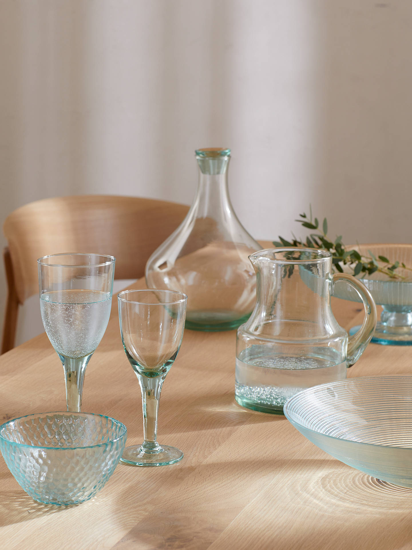 Buy Croft Collection Recycled Glass White Wine Glass, 210ml, Clear Online at johnlewis.com