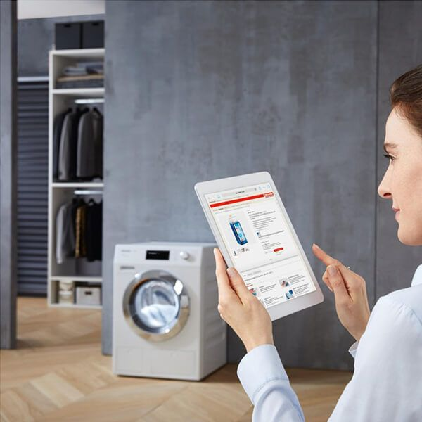 The Miele mobile app