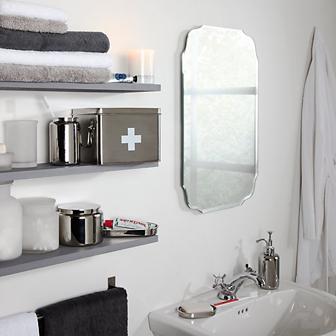 Buy John Lewis Vintage Bathroom Wall Mirror Online At Johnlewis