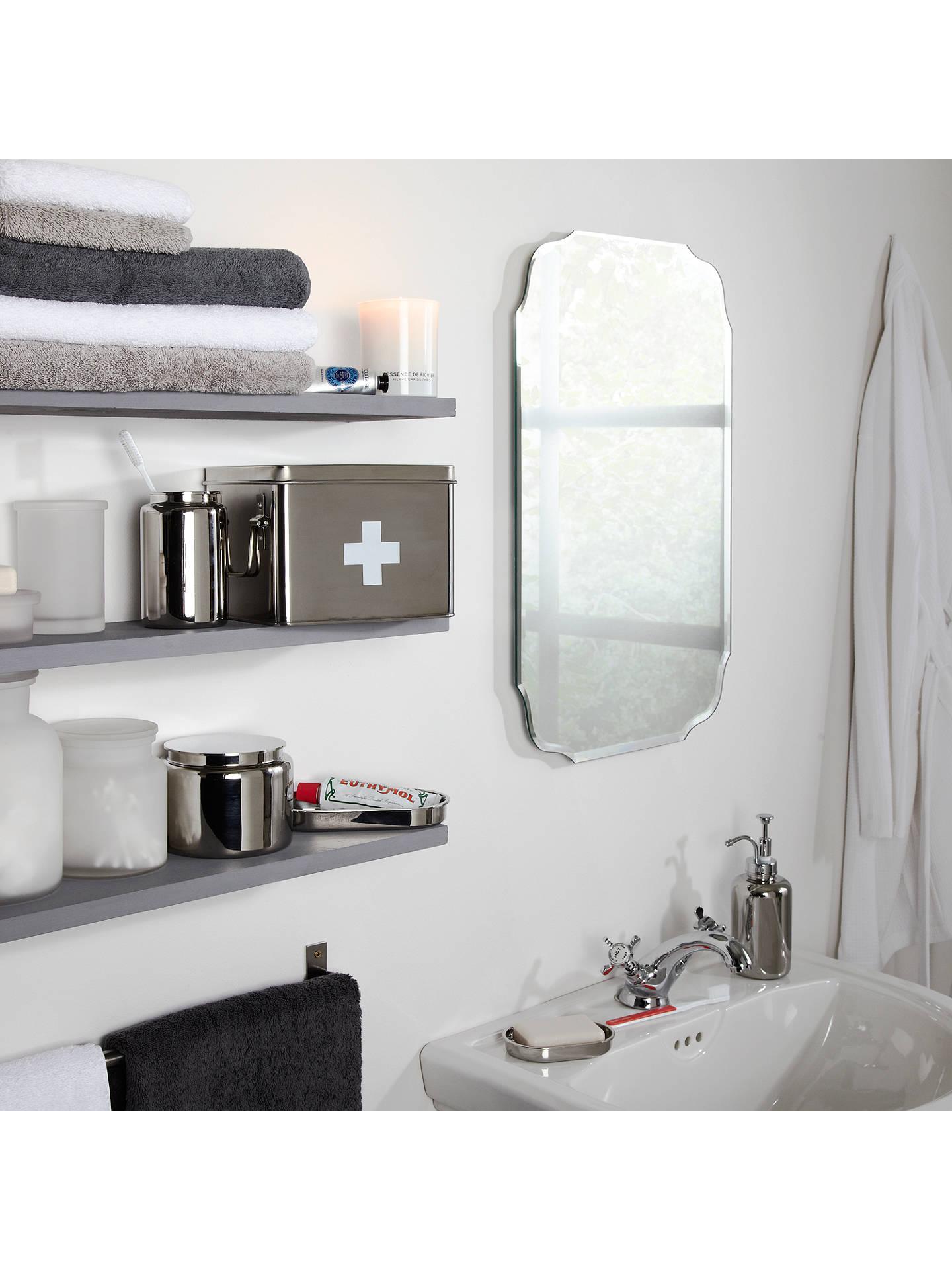 John Lewis & Partners Vintage Bathroom Wall Mirror at John Lewis ...