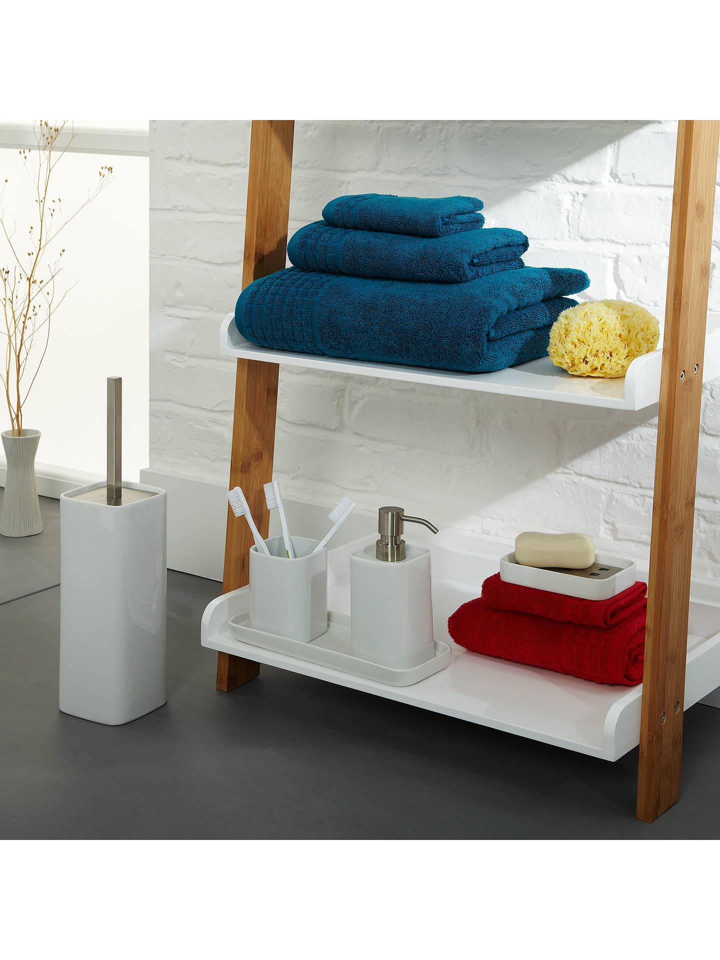 house by john lewis bamboo 5 tier bathroom shelf natural. Black Bedroom Furniture Sets. Home Design Ideas