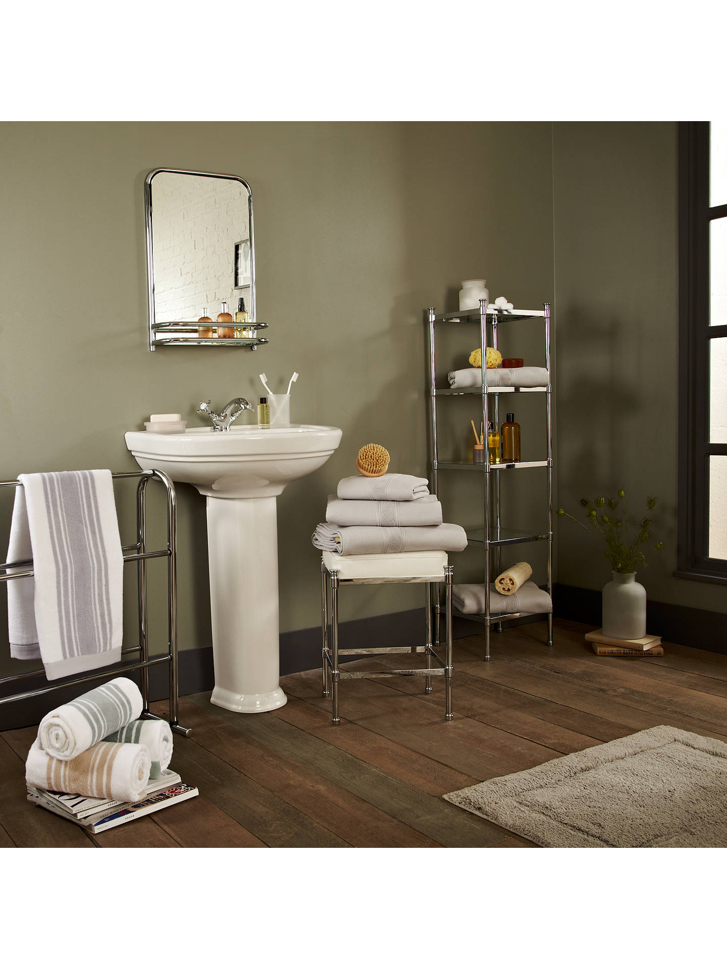 Enjoyable John Lewis Restoration Bathroom Wall Mirror With Shelf At Interior Design Ideas Ghosoteloinfo