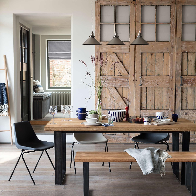 BuyJohn Lewis Calia 3 Seater Dining Bench Oak Online At Johnlewis
