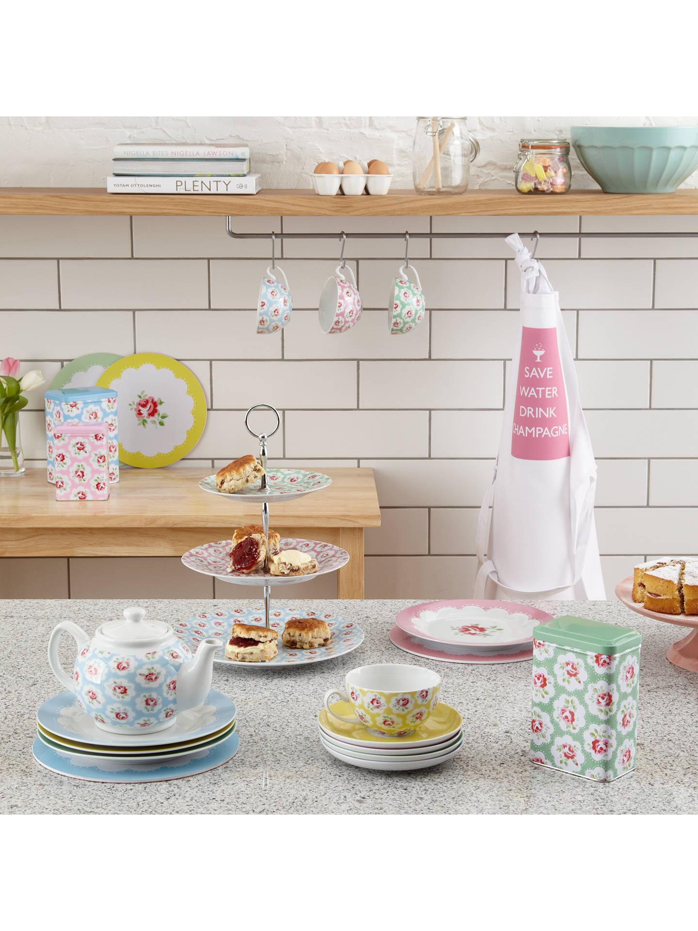 cath kidston cake stand provence rose at john lewis. Black Bedroom Furniture Sets. Home Design Ideas