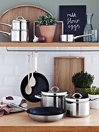 John Lewis & Partners Classic Cookware