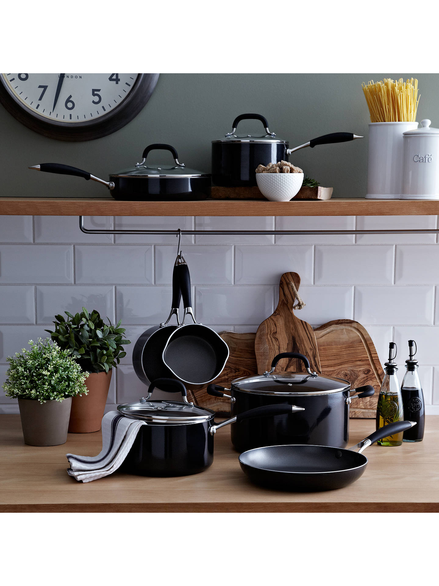 john lewis the pan frypan and lid 24cm at john lewis. Black Bedroom Furniture Sets. Home Design Ideas