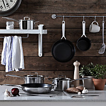 Buy Le Creuset 3-Ply Stainless Steel Cookware Online at johnlewis.com