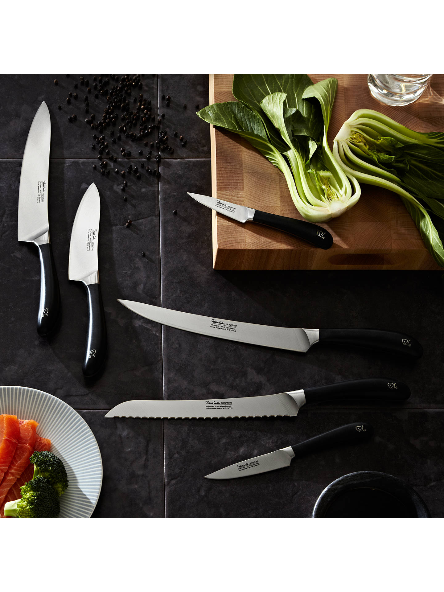 BuyRobert Welch Signature Santoku Knife, 14cm Online at johnlewis.com