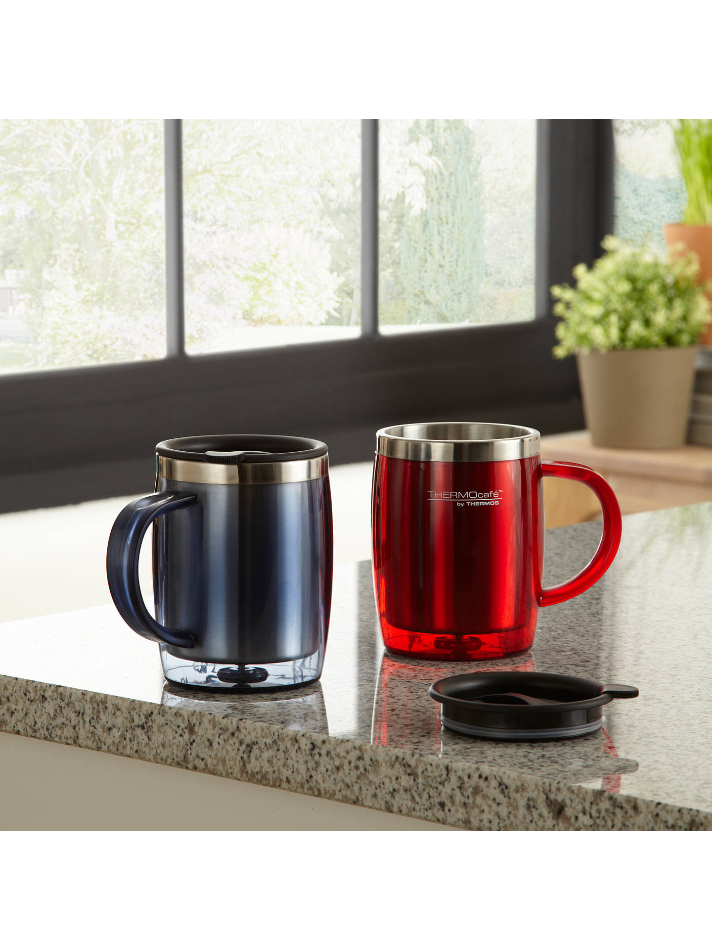 Buy Thermos Desk Mug, Blue Online at johnlewis.com
