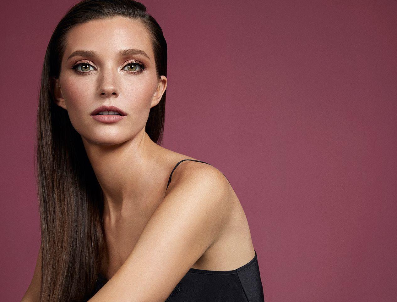 Model in Charlotte Tilbury make-up