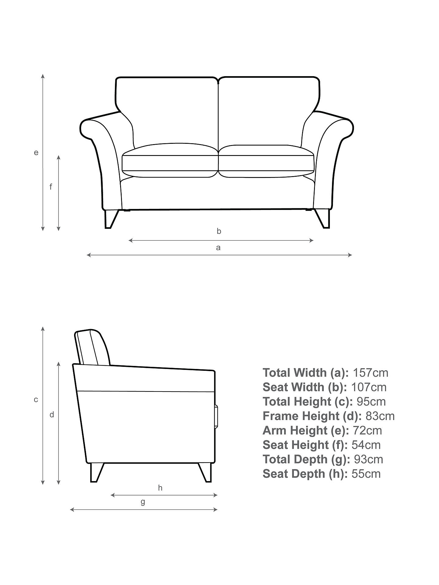 Swell John Lewis Partners Charlotte Small 2 Seater Sofa Pabps2019 Chair Design Images Pabps2019Com