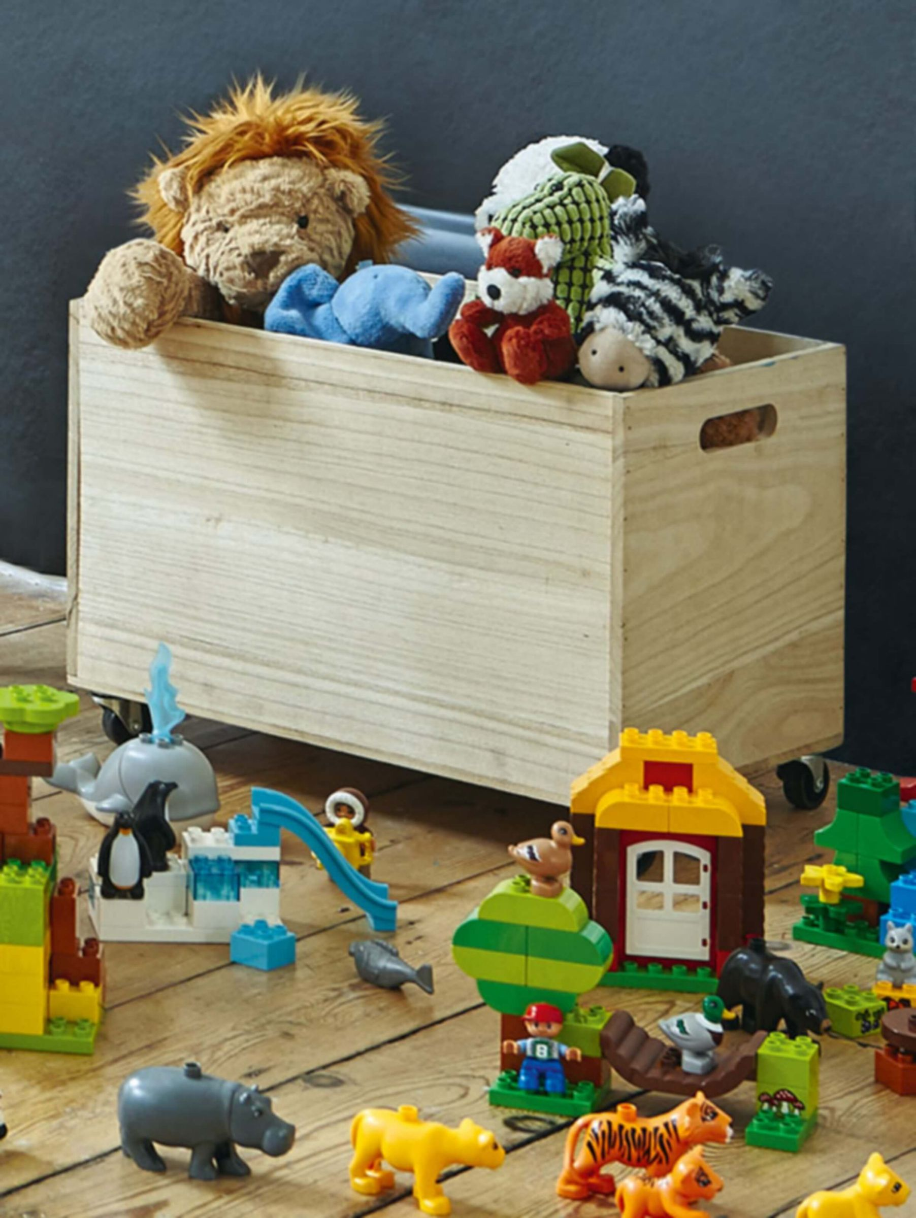 CHILDREN'S STORAGE & TOY BOXES