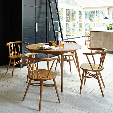 Buy Ercol For John Lewis Shalstone Dining Table Online At Johnlewis