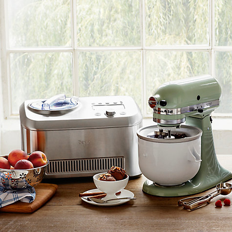 Buy Sage by Heston Blumenthal the Smart Scoop™ Ice Cream Maker, Silver Online at johnlewis.com