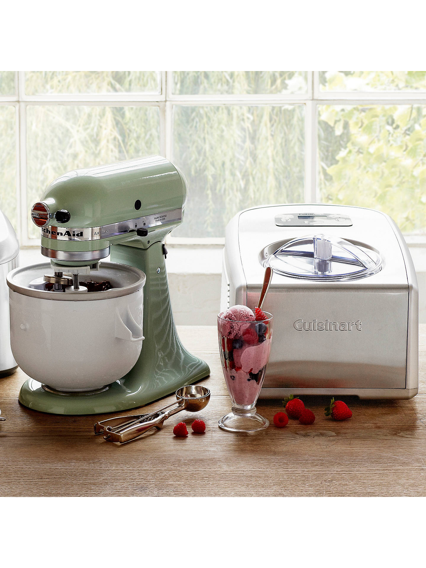 Buy John Lewis Mechanical Ice Cream Scoop Online at johnlewis.com