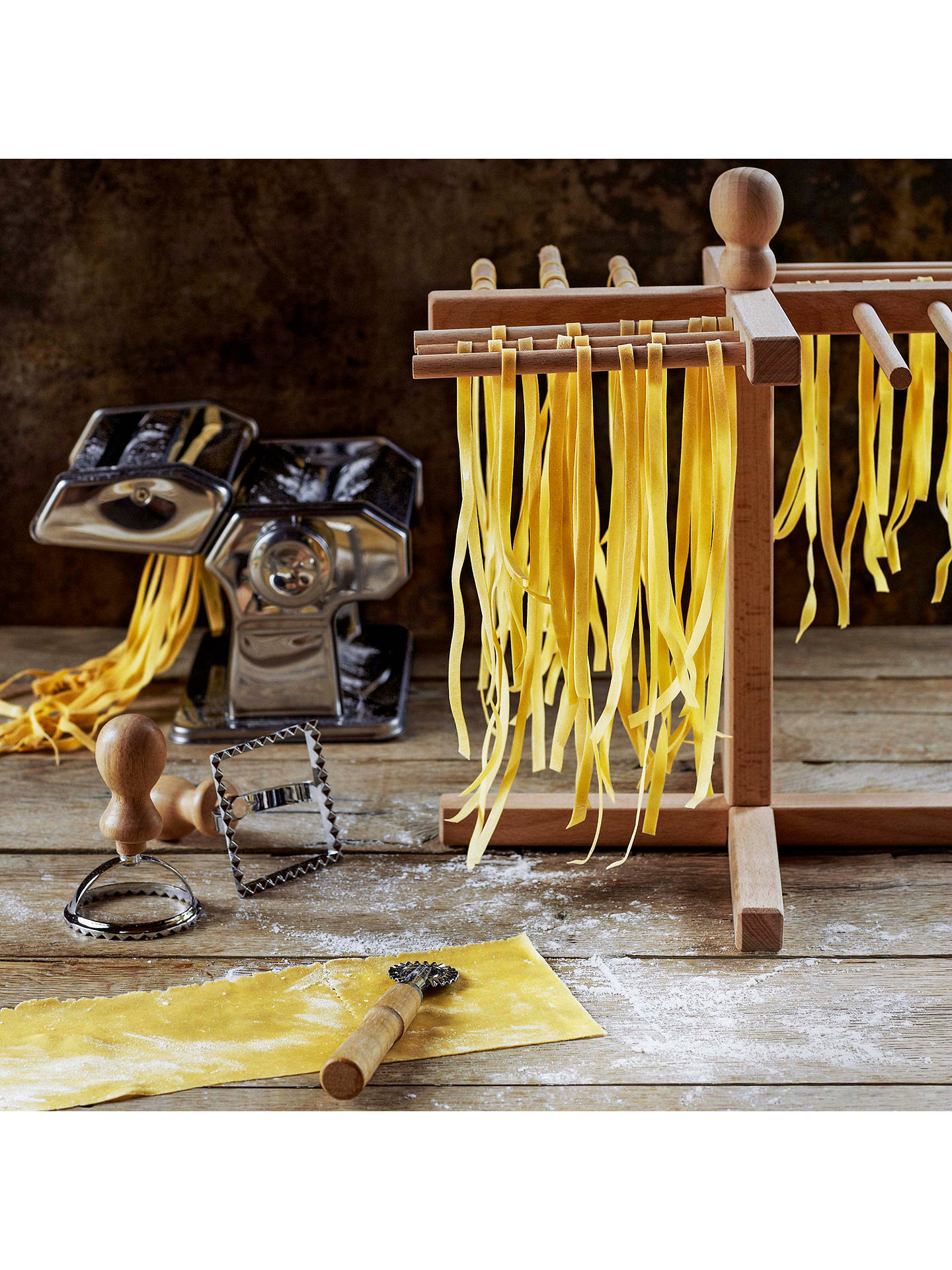 Buy John Lewis & Partners Wooden Pasta Stand Online at johnlewis.com