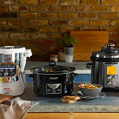 Buy Crock-Pot SCCPRC507B-060 Digital Slow Cooker, Black Online at johnlewis.com
