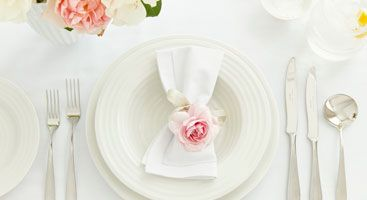 Table setting  guide