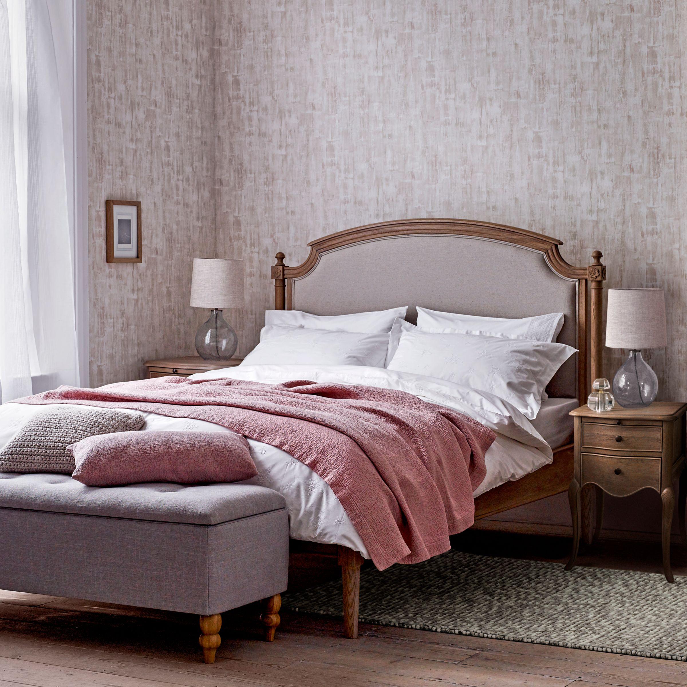 - John Lewis & Partners Etienne Low End Sleigh Bed Frame, Super King